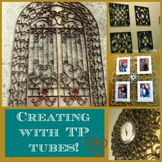 Paper crafts - quilling, recycled crafts, and much more! Lots of fun tutorials!