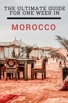 Ultimate guide for one week in Morocco