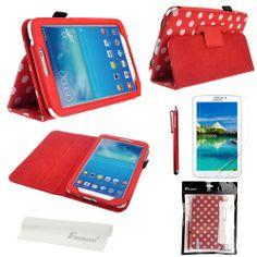 Foxnovo® 4 in 1 Stand Set Polka Dot Flip PU Leather Case Cover for Samsung Galaxy Tab 3 7.0 P3200 / P3210 / T210 / T211 (Red) Foxnovo http://www.amazon.com/dp/B00JWJGBUS/ref=cm_sw_r_pi_dp_.wiItb0S3QWYGECM