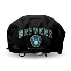 Milwaukee Brewers MLB Economy Barbeque Grill Cover