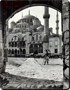 Sultanahmet Camii 1900'ler.