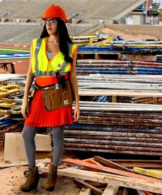 DIY construction worker #Halloween costume on Crafted in #Carhartt