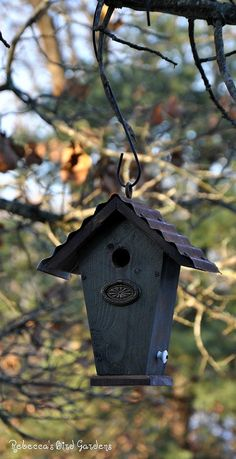 "Rustic Birdhouse ~ ""The Wren House"""