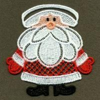 FSL Christmas Napkin Rings - Wind Bell Embroidery | OregonPatchWorks Embroidery Shop, Baby Embroidery, Custom Embroidery, Embroidery Thread, Machine Embroidery Designs, Christmas Napkin Rings, Christmas Napkins, Art Deco Borders, Stitch Delight