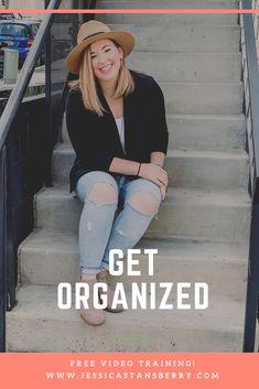 Ways to get organized!