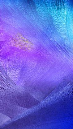 Purple Feather Brush Strokes iPhone 6 Plus HD Wallpaper