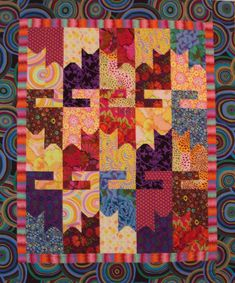 Fun and easy pieced cat quilt pattern. Lap size quilt 56 x 66 with added borders. Sure to please any cat lover Scrappy Quilt Patterns, Scrappy Quilts, Free Quilt Block Patterns, Star Quilts, Canvas Patterns, Dog Quilts, Animal Quilts, Vogel Quilt, History Of Quilting