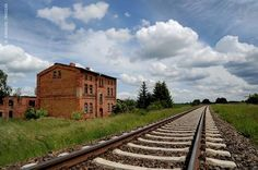 STORKOW OLD TRAIN STATION Photo by KAROLOS TRIVIZAS -- National Geographic Your Shot