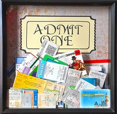 Ticket Stub Memory Box (Caitlin)
