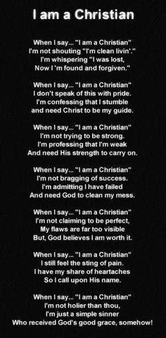 IM a christian