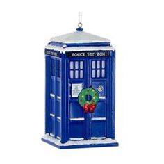 Doctor who #tardis christmas tree 4 inch #ornament/decoration/bauble #lights up,  View more on the LINK: http://www.zeppy.io/product/gb/2/252519734545/