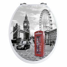 par exemple c'est un abattant wc london 3d
