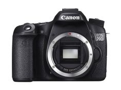 Canon EOS 70D SLR-Digitalkamera (20 Megapixel APS-C CMOS Sensor, 7,6 cm (3 Zoll) Display, Full HD, WiFi,…