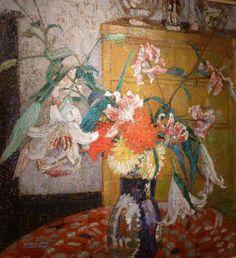 ❀ Blooming Brushwork ❀ - garden and still life flower paintings - Leon de Smet