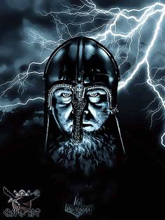 I keep seeing people calling this a Viking but if we go by the fact that the helmet is actually a vendel period helm found in Britain, Its a lot more likely that this guy is just a pagan Saxon