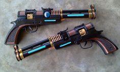 SWTOR Smuggler Blaster Pistols by RebelATS.deviantart.com on @deviantART