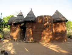 Beautiful African Architecture - Tata Somba House near Natitingou, Atakora Region, Benin, West Africa