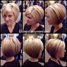 wanna give your hair a new look? Inverted bob hairstyles is a good choice for you. Here you will find some super sexy Inverted bob hairstyles, Find the best one for you, Bob Haircuts For Women, Short Hair Cuts For Women, Short Hairstyles For Women, Cool Hairstyles, Short Hair Styles Thin, Short Bob Haircuts, 2015 Hairstyles, Celebrity Hairstyles, Hairstyle Ideas