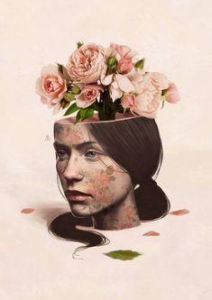 ᐅ Die 99 Besten Bilder von Illustration in 2019 Aykut Aydoğdu Collage Art, Collages, Surealism Art, Pics Art, Surreal Art, Portrait Art, Aesthetic Art, Graphic, Art Inspo