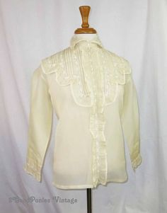 antique Edwardian Lace Blouse by 2goodponiesvintage on Etsy, $159.00