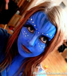 Halloween Makeup and Face Painting Ideas   Avatar costumes, Avatar ...