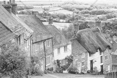 Gold Hill Shaftsbury Somerset - Wall Mural
