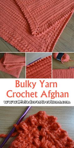 Bulky yarn can be a dream to crochet with as well as make the most beautiful textured pieces. #bulkyyarnafghan #bulkycrochet #crochetafghanpattern #bulkyyarn #crochetbulky Crochet Blocks, Afghan Crochet Patterns, Pdf Patterns, Free Pattern, Crotchet Patterns, Crochet Yarn, Easy Crochet, Crochet Stitches, Free Crochet