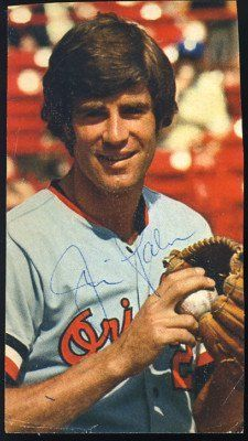 "Jim Palmer Orioles Signed 2.5 x 4.75 Magazine Cut Photo JSA COA HOF AUTOGRAPH . $20.00. Baltimore Orioles Pitcher Jim PalmerHand Signed 2 1/2 x 4 3/4"" Magazine Cut Out Photo GREAT AUTHENTIC BASEBALL COLLECTIBLE!! . AUTOGRAPH AUTHENTICATED BY JSA AUTHENTICATION WITH NUMBERED JSA AUTHENTICATION STICKER ON ITEM AND MATCHING NUMBERED JSA CERTIFICATE OF AUTHENTICITY (COA) INCLUDED. JSA/COA:  # F54716 ITEM PICTURED IS ACTUAL ITEM BUYER WILL RECEIVE."