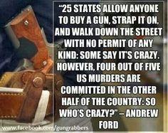Gun control, DOES NOT WORK !