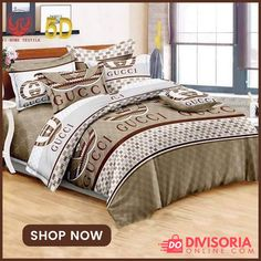 Shopping at Affordable Deals, Discounts and Prices Gucci Shop, 4 In 1, Home Textile, Bed Sheets, Home And Living, Bedding Sets, Comforters, Shop Now, Korean