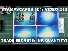 One can achieve good results in the dye based ink/glossy paper technique using most ink/paper combinations but in this video I'll isolate what makes the appl. Card Making Tips, Card Making Tutorials, Card Making Techniques, Making Cards, Blender Pen, Trade Secret, Art Impressions, Card Designs, Handmade Cards