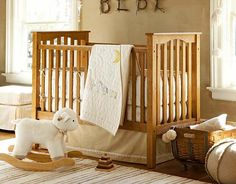 This is such a cute crib.  Love that you get color options and it is definitely a boy or girl style.