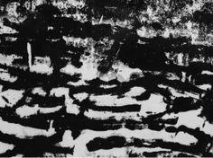 BRONISŁAW SCHLABS FOTOGRAM II/14 , l. 60. XX w.ż. Fotografia czarno-biała, brom, papier, technika autorska