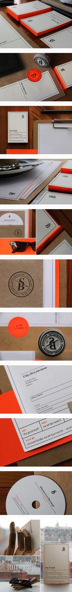 Sarah Buervenich Identity | #stationary #corporate #design #corporatedesign #identity #branding #marketing < repinned by www.BlickeDeeler.de | Take a look at www.LogoGestaltung-Hamburg.de
