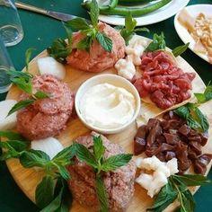 Lebanese raw meat