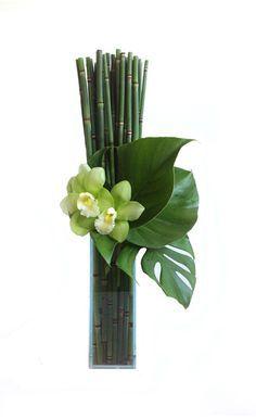 modern flower arrangements - Buscar con Google                                                                                                                                                                                 More