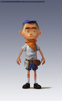 Kid Cartoon Character #kid