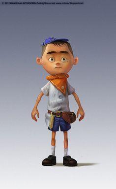 Kid Cartoon Character #kid