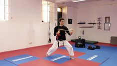 5 Exercises for Karate Speed, Strength, and Power (w/Elastic Bands ) - Karate Science Academy Jka Karate, What Is Science, Resistance Band Exercises, Basketball Court, Strength, Yoga, Workout, Learning, Fitness