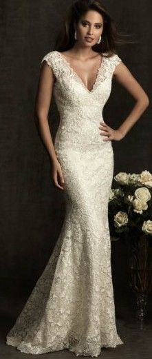 Lace gown of elegance ♥✤ | Keep the Glamour | BeStayBeautiful