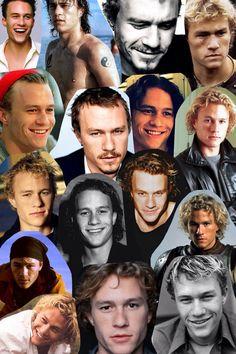 "celebs-collages: ""Heath Ledger "" Australian Men, Australian Actors, Health Ledger, Movie Couples, Lost Soul, Vintage Movies, Movie Quotes, Pretty Boys, Hot Guys"
