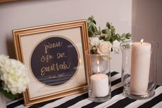wedding guest book table - Google Search
