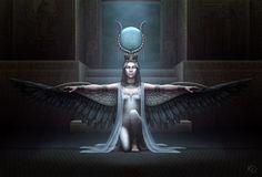 A Deusa Ísis ~ Ashtar Sheran