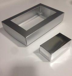 Cajas Elegantes Metalizadas Para Trufas, Chocolates Chocolate Box, Master Class, Latte, Packaging, Wallet, Gifts, Box Of Chocolates, Sweet Recipes, Deserts