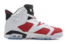 "751efd04206c2d New Air Jordan 6 Retro ""Carmine"" White Carmine-Black Free Shipping 64Qzb"