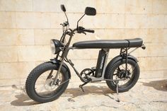 The UNIMOKE eBike is a cool, powerful compact utility electric bike that is a dream to ride. With 20 inch fat front and rear comfort tires, a set of 2 high-perf