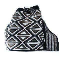 Wayuu Boho Bags with Crochet Patterns Crochet Purses, Crochet Bags, Tapestry Crochet Patterns, Bag Pattern Free, Tapestry Bag, Boho Bags, Chanel Boy Bag, Shoulder Bag, Quilts