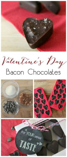 The perfect gift idea for that special someone on your list! You can make this recipe in no time at all, and give the perfect Valentines Day gift! Everyone will love these bacon chocolates!