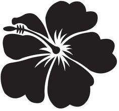 Hawaiian Hibiscus Flowers Sticker SET FOR CAR ETC | eBay