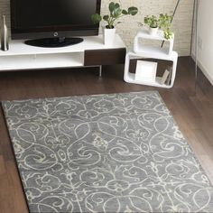 Found it at Joss & Main - Muller Grey Geometric Hand-Woven Area Rug